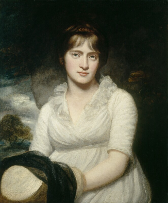 Amelia Opie, by John Opie, 1798 - NPG 765 - © National Portrait Gallery, London