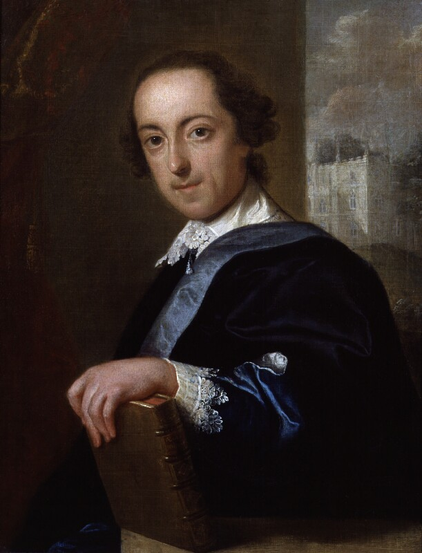 Horace Walpole, by John Giles Eccardt, 1754 - NPG 988 - © National Portrait Gallery, London