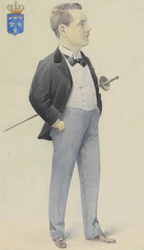 Prince Henri d'Orleans, by Jean Baptiste Guth ('GUTH'), 1897 - NPG 4707(23) - © National Portrait Gallery, London
