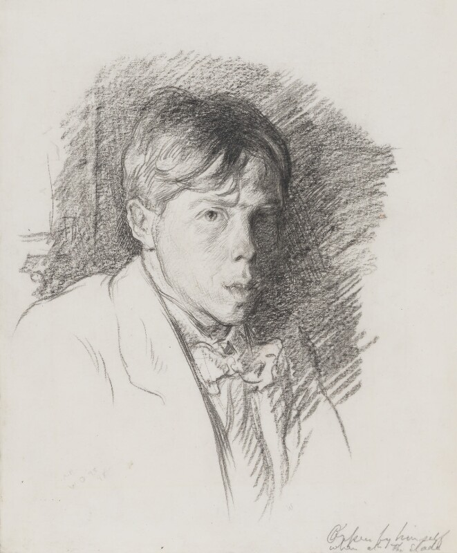 William Orpen, by Sir William Orpen, circa 1898 - NPG 5267 - © National Portrait Gallery, London