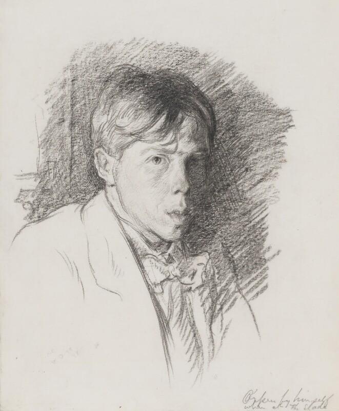 William Orpen, by Sir William Orpen, circa 1898 - NPG 5267 - © National Portrait Gallery, London