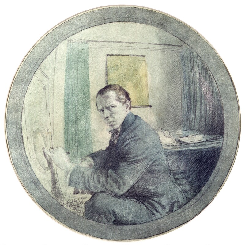 William Orpen, by Sir William Orpen, 1910 - NPG 2638 - © National Portrait Gallery, London