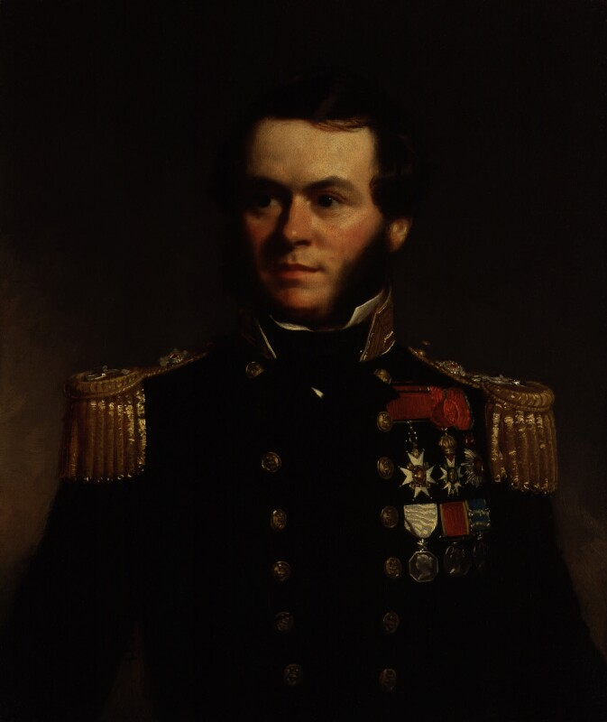 Sherard Osborn, by Stephen Pearce, exhibited 1847 -NPG 1224 - © National Portrait Gallery, London