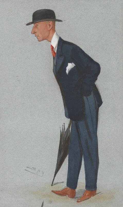 Edward Rodney ('Roddy') Owen, by Sir Leslie Ward, published in Vanity Fair 28 November 1891 - NPG 3010 - © National Portrait Gallery, London
