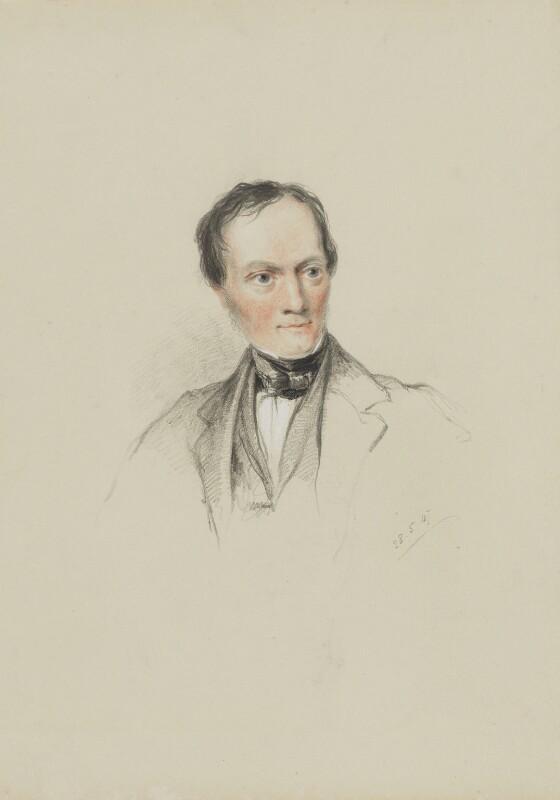 Sir Richard Owen, by William Brockedon, 1847 -NPG 2515(98) -