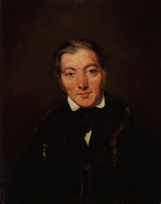Robert Owen, by William Henry Brooke, 1834 - NPG 943 - © National Portrait Gallery, London