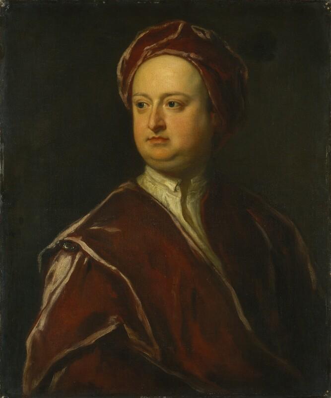 Edward Harley, 2nd Earl of Oxford, attributed to Jonathan Richardson, circa 1725 - NPG 1808 - © National Portrait Gallery, London