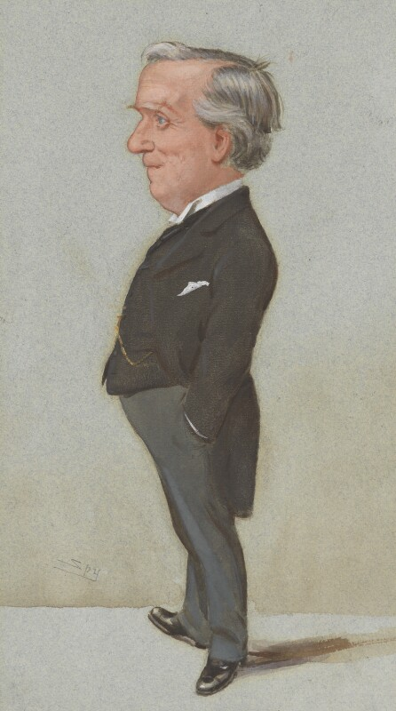 Herbert Henry Asquith, 1st Earl of Oxford and Asquith, by Sir Leslie Ward, published in Vanity Fair 14 July 1904 - NPG 4945 - © National Portrait Gallery, London