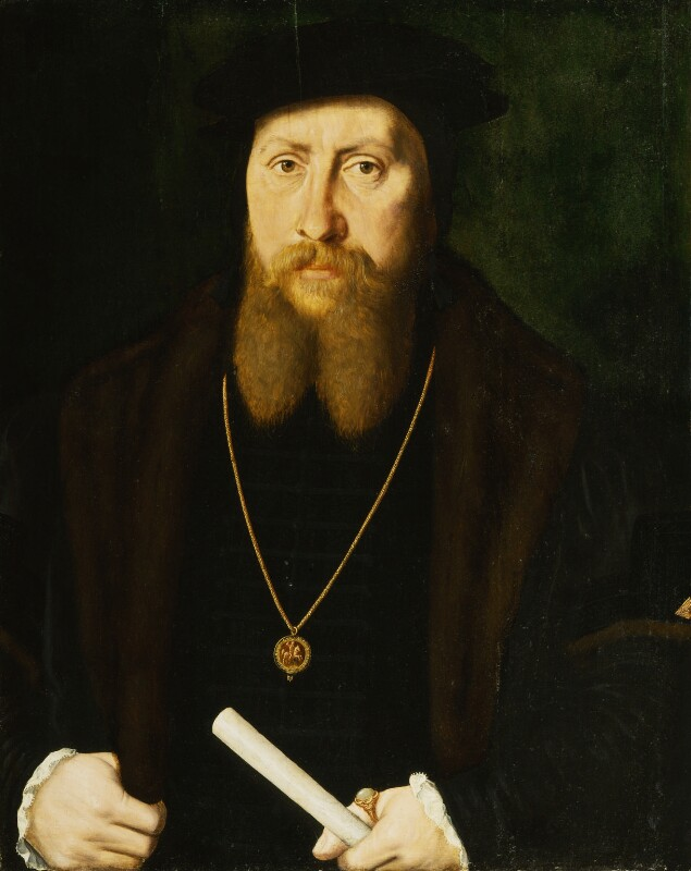 William Paget, 1st Baron Paget, by Unknown Flemish artist, 1549 - NPG 961 - © National Portrait Gallery, London