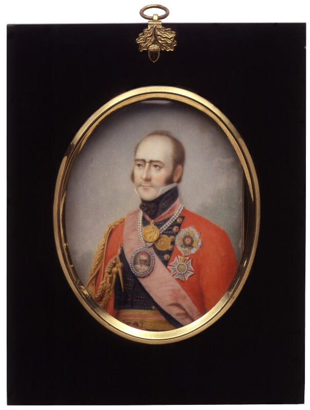 Sir Edward Paget, by Robert Home, 1823 -NPG 3247 - © National Portrait Gallery, London