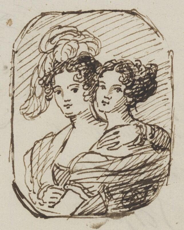 Elizabeth (née Turner), Lady Palgrave; probably Eleanor Jane Turner, by Thomas Phillips,  - NPG 2896 - © National Portrait Gallery, London