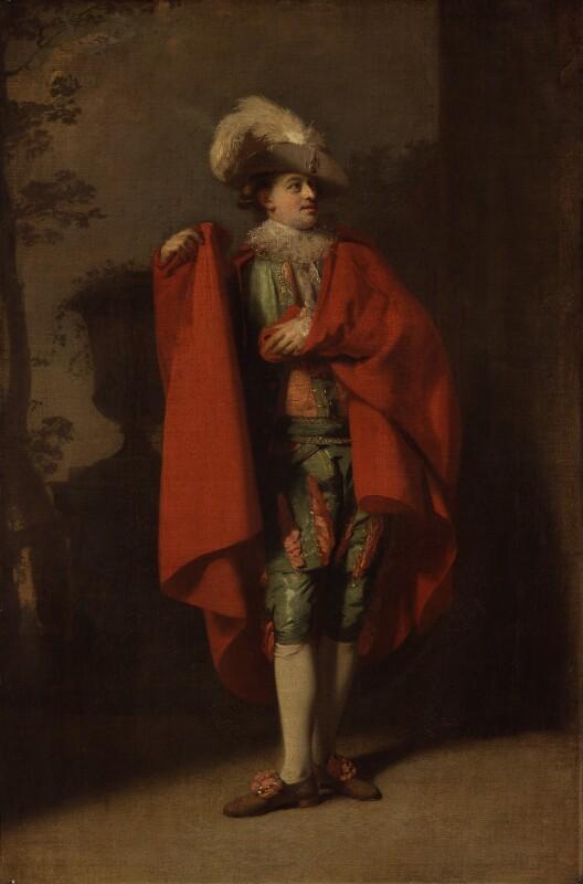 John Palmer as Count Almaviva in 'The Spanish Barber', by Henry Walton, 1779 - NPG 2086 - © National Portrait Gallery, London