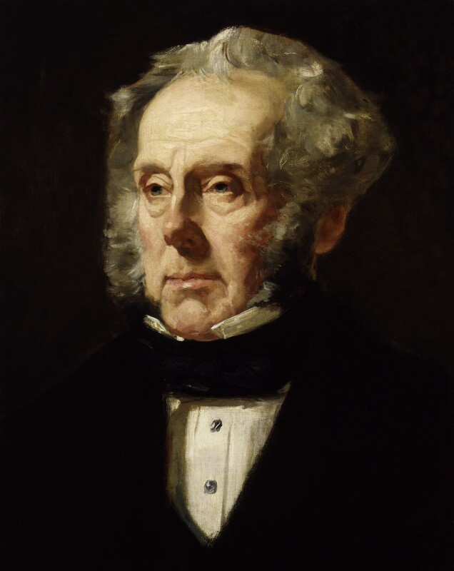 Henry John Temple, 3rd Viscount Palmerston, by Francis Cruikshank, circa 1855-1859 - NPG 3953 - © National Portrait Gallery, London