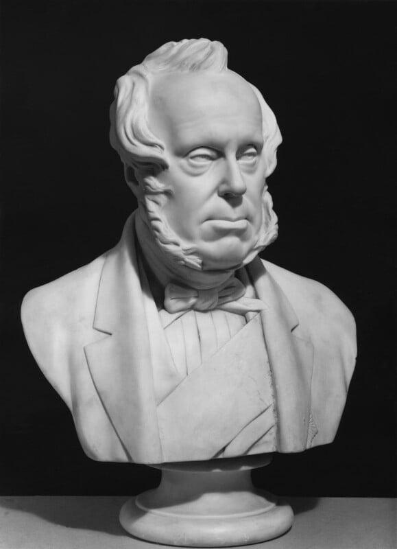 Henry John Temple, 3rd Viscount Palmerston, by Edward William Wyon, circa 1865 - NPG 4508 - © National Portrait Gallery, London