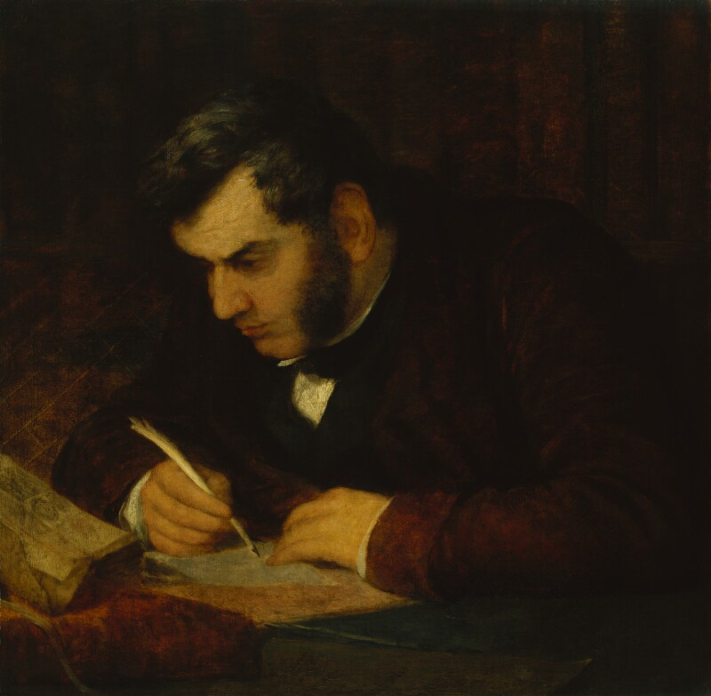 Sir Anthony Panizzi, by George Frederic Watts, circa 1847 - NPG 1010 - © National Portrait Gallery, London
