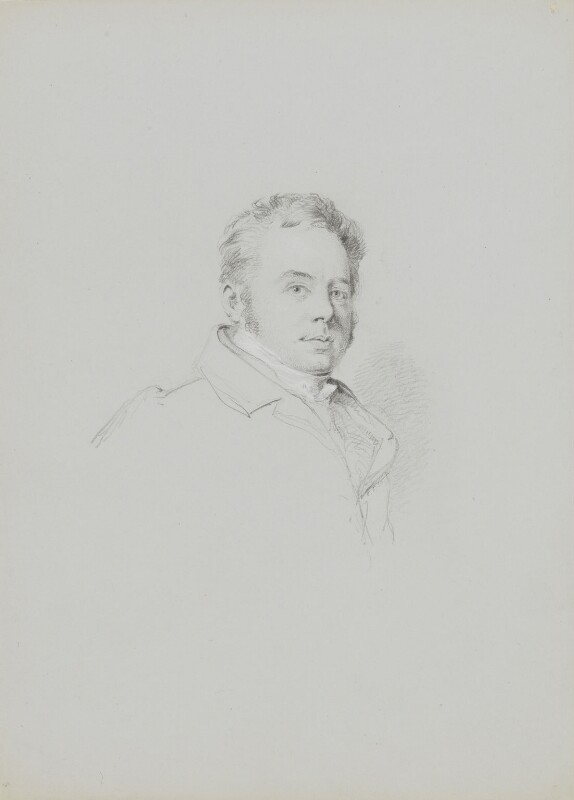 John Buonarotti Papworth, by William Brockedon, 1823-1849 - NPG 2515(53) - © National Portrait Gallery, London