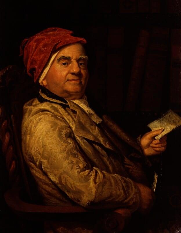 Samuel Parr, replica by George Dawe, circa 1813 - NPG 9 - © National Portrait Gallery, London