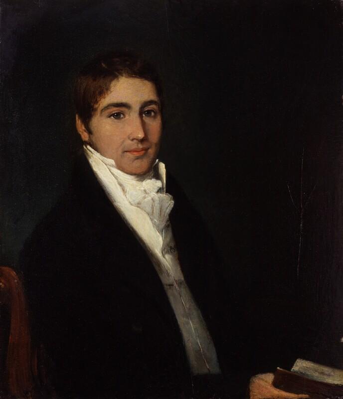 Unknown man, formerly known as Richard Partridge, by John Partridge, circa 1840 - NPG 4235 - © National Portrait Gallery, London