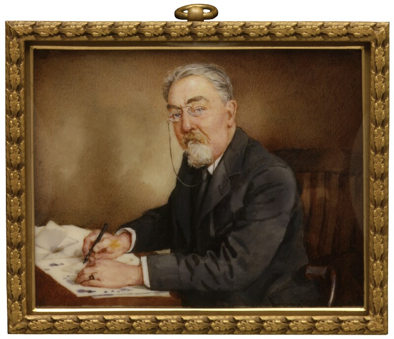 Sidney James Webb, Baron Passfield, by Winifred Cécile Dongworth, 1920-1930 - NPG 5027 - © National Portrait Gallery, London