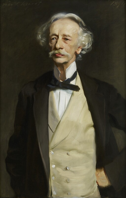 Coventry Kersey Deighton Patmore, by John Singer Sargent, 1894 - NPG 1079 - © National Portrait Gallery, London