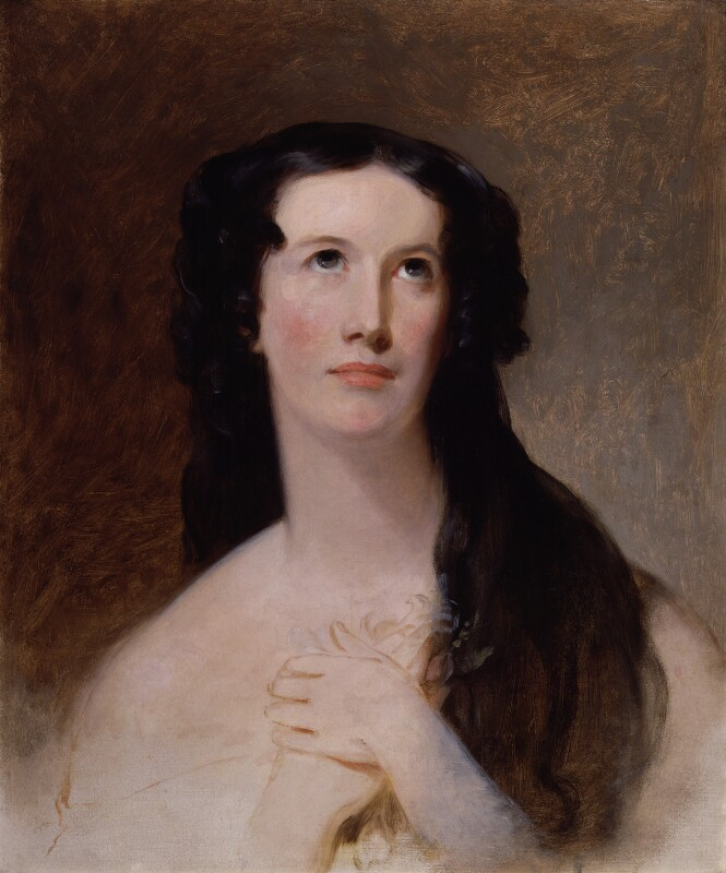 Mary Ann Paton (Mrs Wood), by Thomas Sully, 1836 - NPG 1351 - © National Portrait Gallery, London