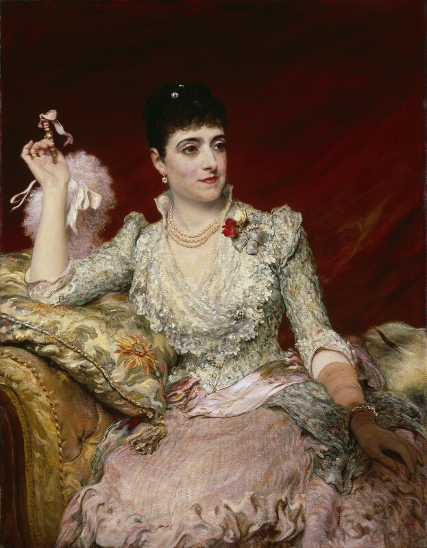 Adelina Patti, by James Sant, exhibited 1886 - NPG 3625 - © National Portrait Gallery, London