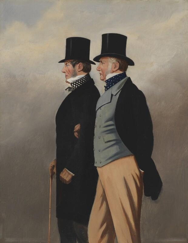 George Payne; Henry John Rous, by G. Thompson,  - NPG 2957 - © National Portrait Gallery, London