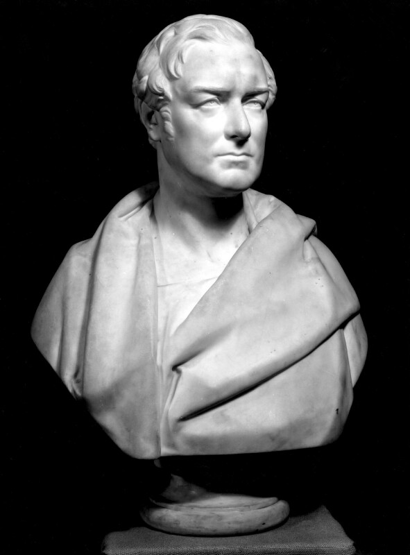 Sir Robert Peel, 2nd Bt, by Matthew Noble, 1851 - NPG 596 - © National Portrait Gallery, London