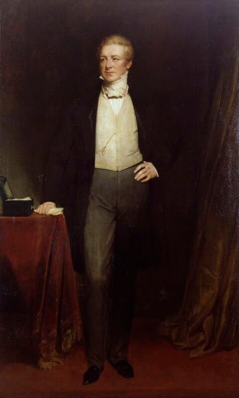 Sir Robert Peel, 2nd Bt, by Henry William Pickersgill,  - NPG 3796 - © National Portrait Gallery, London