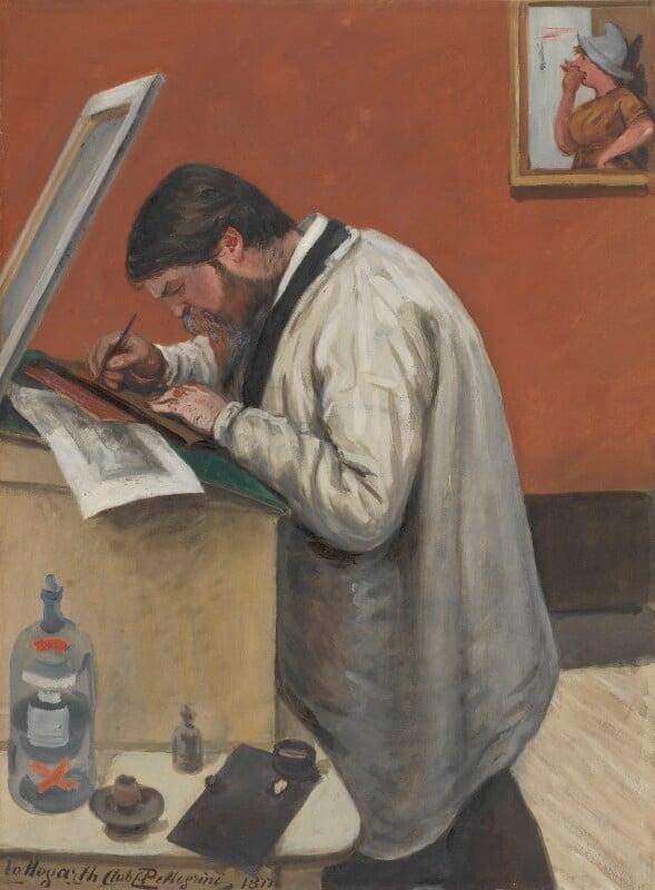 Carlo Pellegrini, attributed to Carlo Pellegrini, 1877 - NPG 2933 - © National Portrait Gallery, London