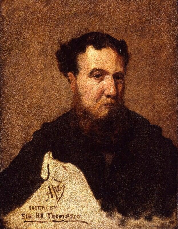 Carlo Pellegrini, by Sir Henry Thompson, circa 1874 -NPG 3947 - © National Portrait Gallery, London