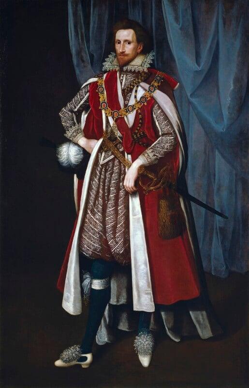 Philip Herbert, 4th Earl of Pembroke, by Unknown artist, circa 1615 - NPG 5187 - © National Portrait Gallery, London