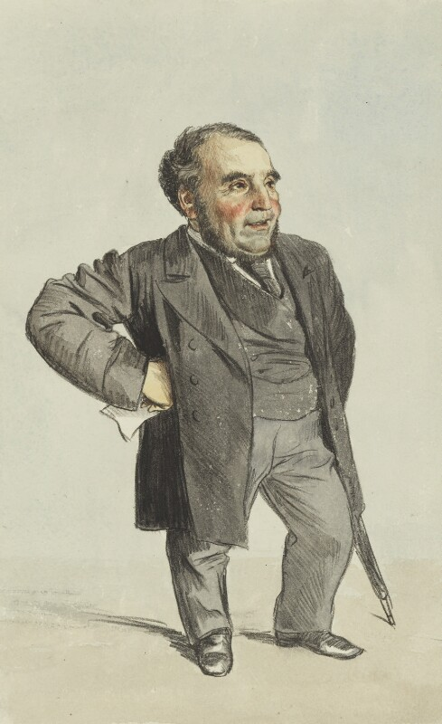 Sir John Pender, by James Jacques Tissot, published in Vanity Fair 28 October 1871 - NPG 2738 - © National Portrait Gallery, London
