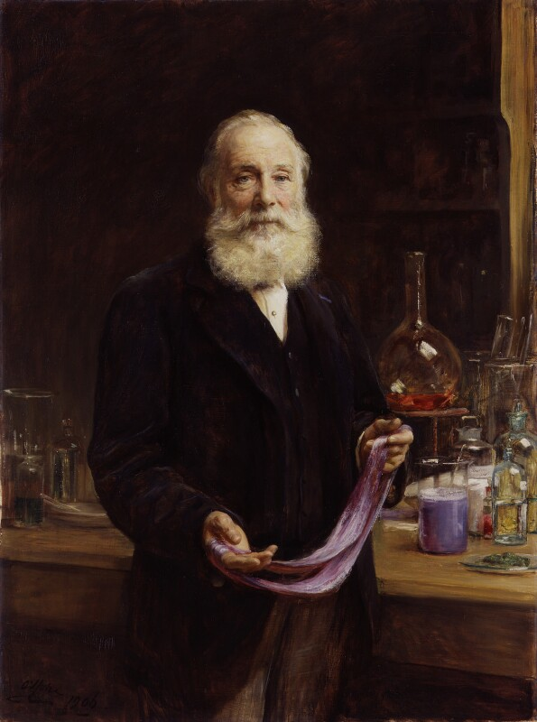 Sir William Henry Perkin, by Sir Arthur Stockdale Cope, 1906 - NPG 1892 - © National Portrait Gallery, London