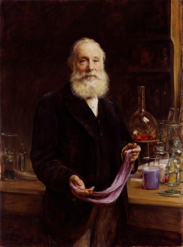 Sir William Henry Perkin, by Sir Arthur Stockdale Cope, 1906 - NPG 1892 - © National Portrait Gallery, London