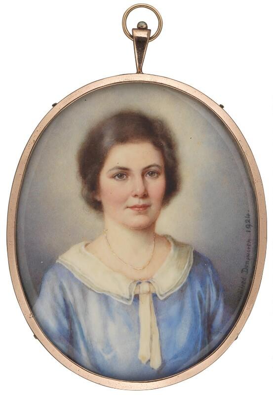 Ishbel Allan MacDonald (Mrs Ridgley, later Peterkin), by Winifred Cécile Dongworth, 1924 - NPG 5035 - © National Portrait Gallery, London