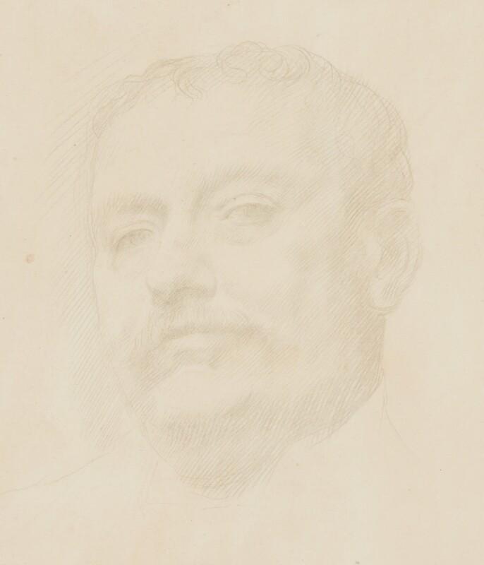 Sir Claude Phillips, by Alphonse Legros, 1890 -NPG 2431 - © National Portrait Gallery, London