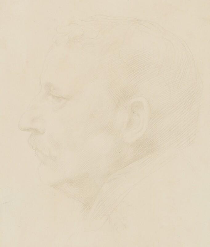 Sir Claude Phillips, by Alphonse Legros, 1890 -NPG 2432 - © National Portrait Gallery, London