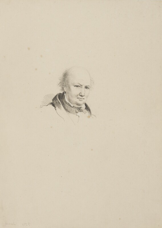 Molesworth Phillips, by William Brockedon, 1825 - NPG 2515(4) - © National Portrait Gallery, London