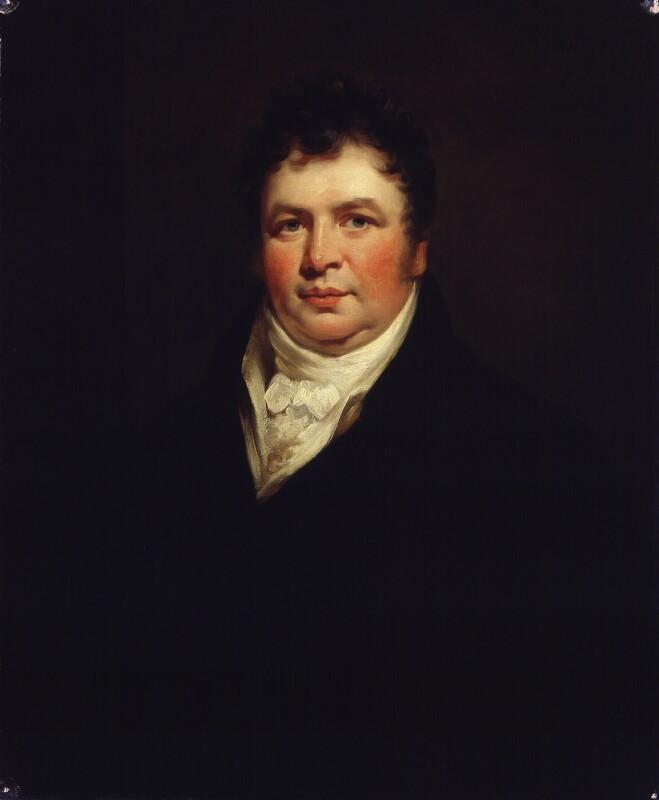 Sir Richard Phillips, by James Saxon, 1806 - NPG 944 - © National Portrait Gallery, London