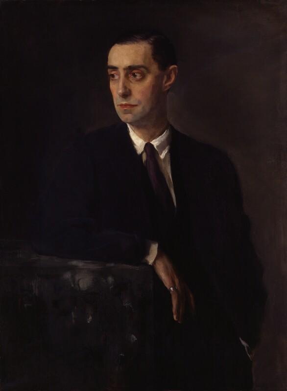 Glyn Warren Philpot, by Sir Oswald Birley, 1920 - NPG 3651 - © National Portrait Gallery, London