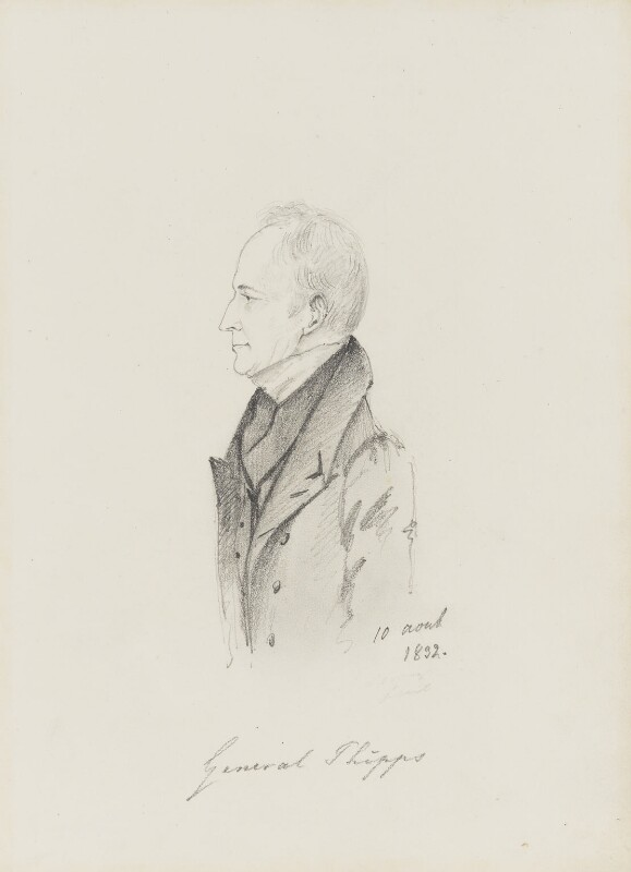 Edmund Phipps, by Alfred, Count D'Orsay, 1832 -NPG 4026(44) - © National Portrait Gallery, London