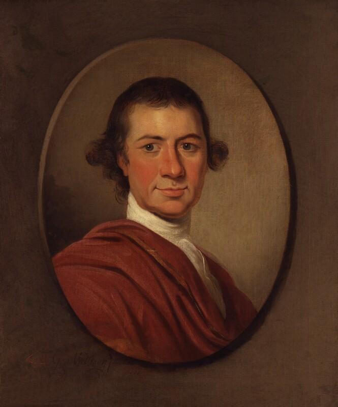 George Pigot, Baron Pigot, by George Willison, 1777 - NPG 3837 - © National Portrait Gallery, London