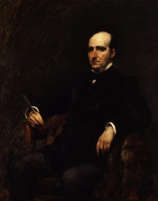 Sir Arthur Wing Pinero, by Joseph Mordecai, exhibited 1891 - NPG 2761 - © National Portrait Gallery, London