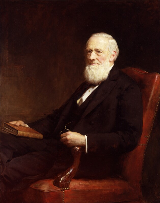 Sir Isaac Pitman, by Sir Arthur Stockdale Cope, after 1897 - NPG 1509 - © National Portrait Gallery, London