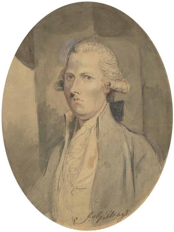William Pitt, by James Gillray, 1789 - NPG 135a - © National Portrait Gallery, London