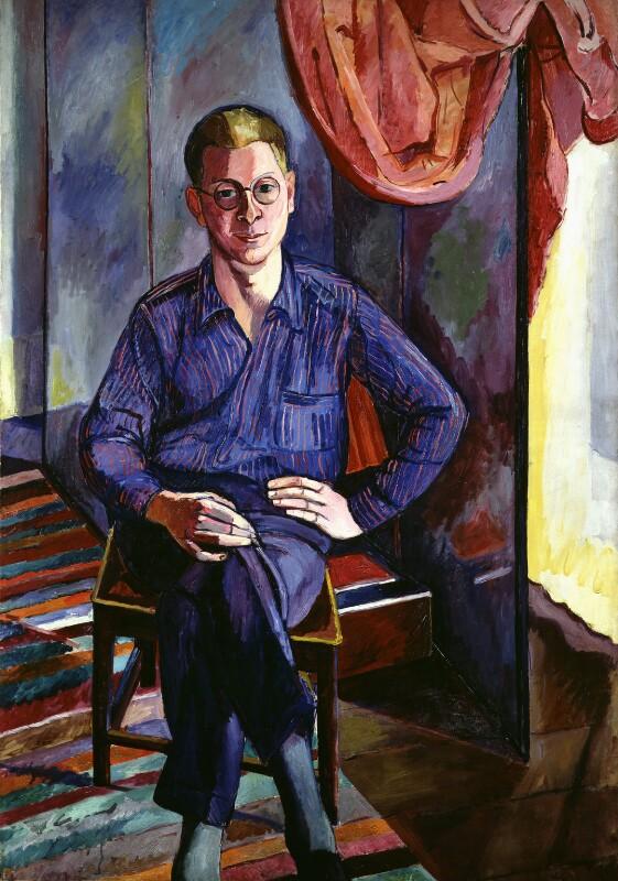 William Plomer, by Edward Wolfe, 1929 - NPG 5172 - © National Portrait Gallery, London