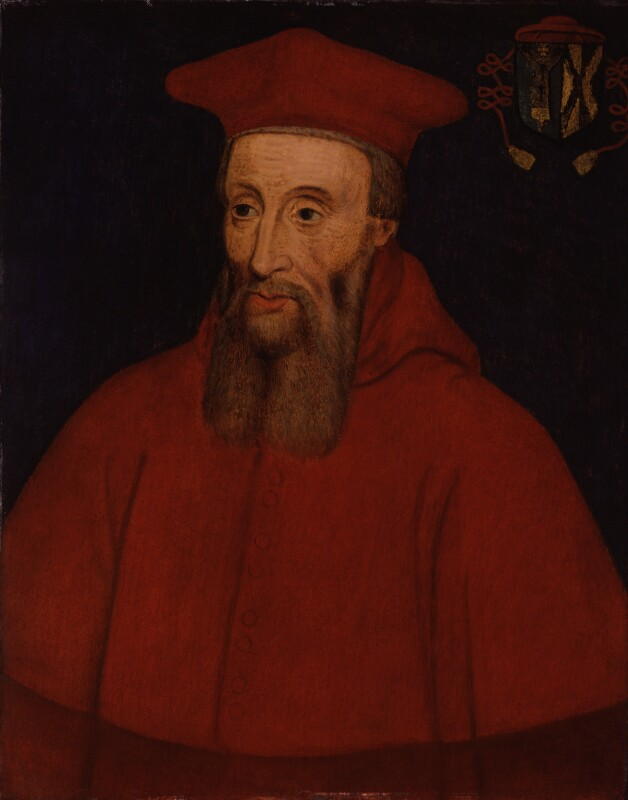 Reginald Pole, by Unknown artist, after 1556 - NPG 220 - © National Portrait Gallery, London