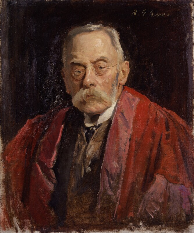 Sir Frederick Pollock, 3rd Bt, by Reginald Grenville Eves, circa 1926 - NPG 3835 - © National Portrait Gallery, London
