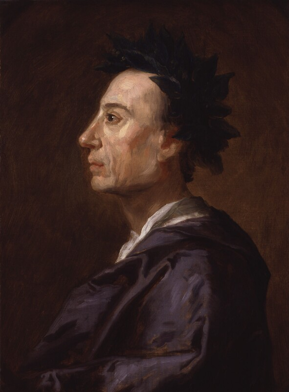 Alexander Pope, by Jonathan Richardson, circa 1737 - NPG 1179 - © National Portrait Gallery, London
